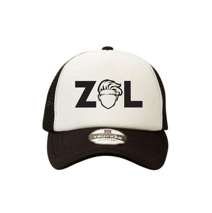 Max Hurrell Zol Trucker Black White
