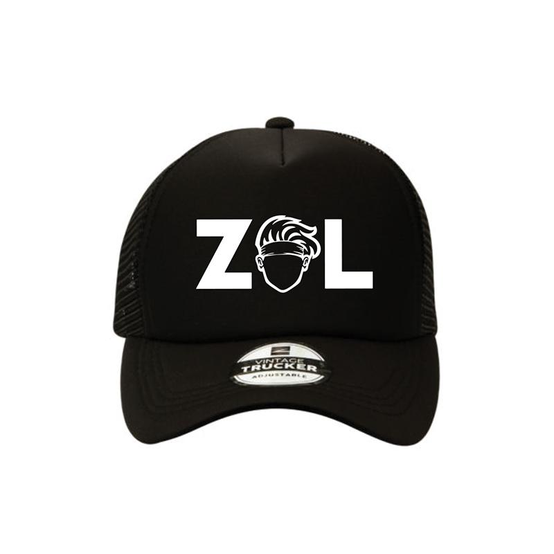 Max Hurrell Zol Trucker Black