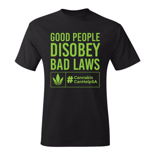 Good People Disobey Bad Laws CCHSA Green
