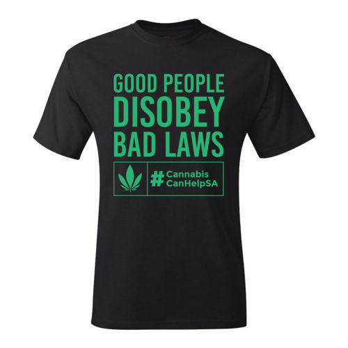 Good People Disobey Bad Laws CCHSA Turquoise