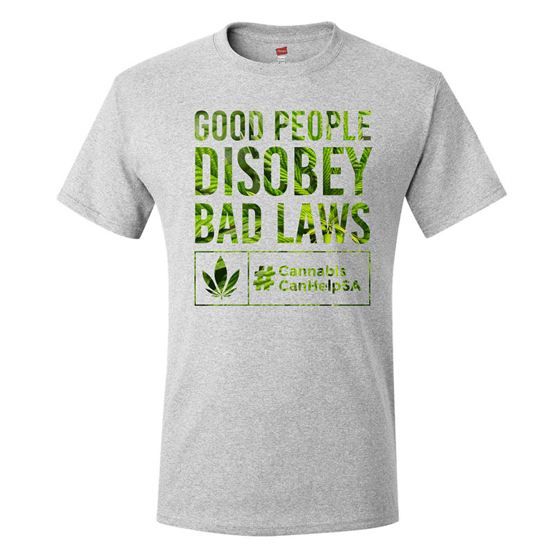 Good People Disobey Bad Laws CCHSA Grey