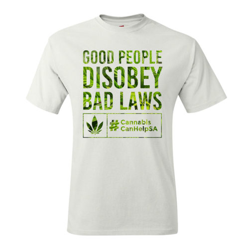Good People Disobey Bad Laws CCHSA White