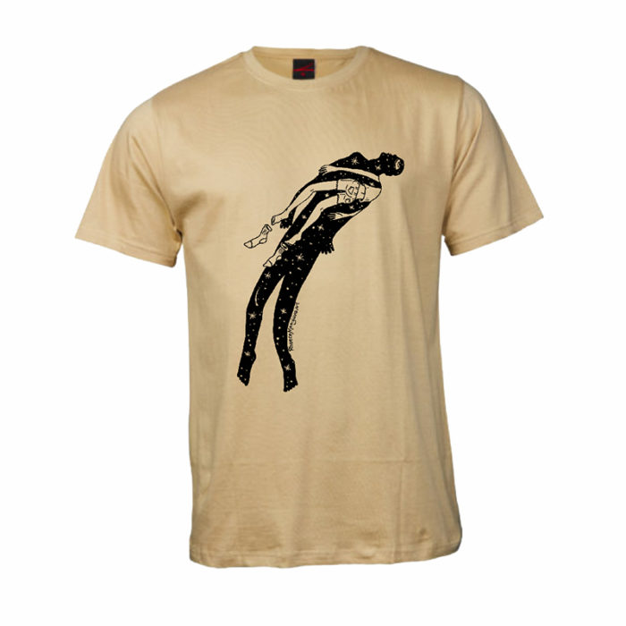 rheece moonjava - within you without you t-shirt