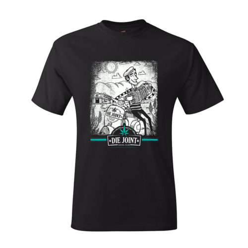 Die Joint Proudly Green Italy T-shirt Keith McKay Rheece Moonjava