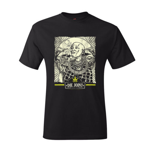 Die Joint Proudly Green Tanzania T-shirt Keith McKay Rheece Moonjava