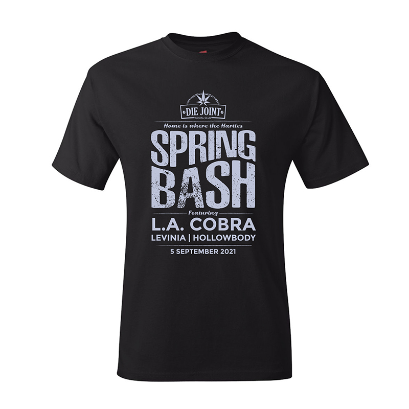 Die Joint Proudly Green Spring Bash T-shirt